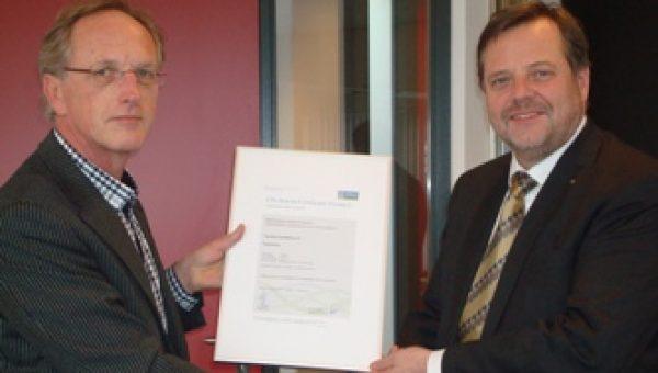 CO2-bewust Certificaat niveau 5 voor Van Dorp installaties