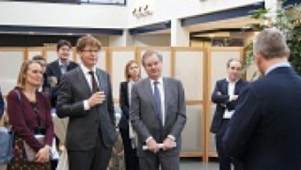 Staatssecretaris en VNO-NCW voorzitter bezoeken Croon