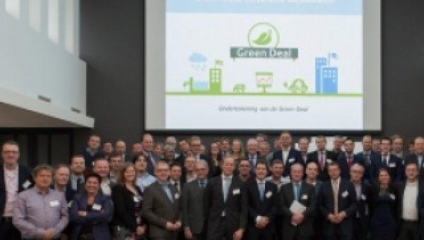 Ondertekening Green Deal Circulaire Gebouwen