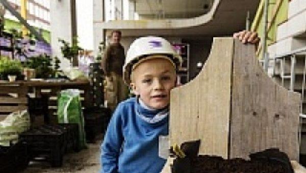 Succesvolle dag van de bouw in Amsterdamse wijk Amstelkwartier