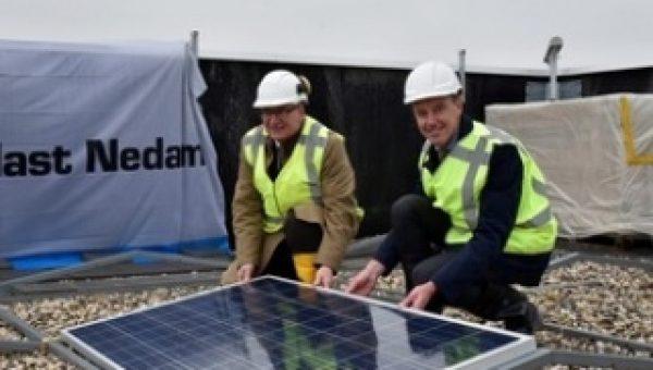 5.500 zonnepanelen voor penitentiaire inrichting
