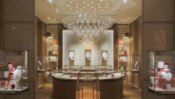 GUTS verzorgt de koeling en verwarming van Cartier shop-in-shop Boutique