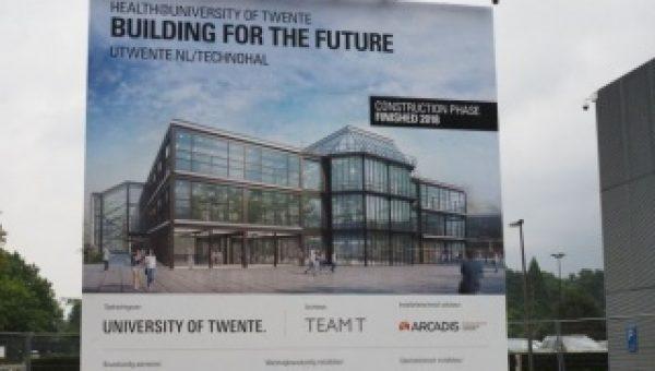 Contracten getekend voor renovatie Technohal, Universiteit Twente
