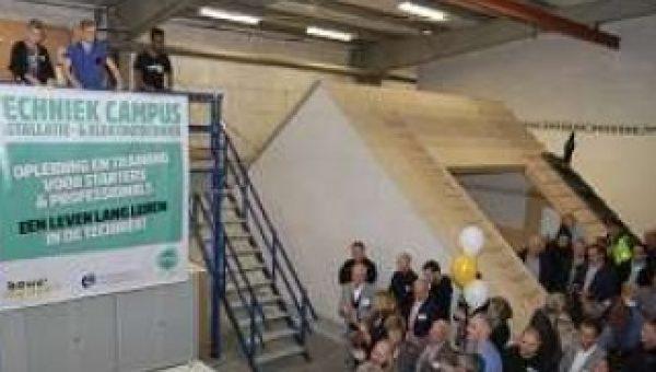 Nieuwe Techniek Campus Hardinxveld speelt in op tekort aan installatiemonteurs in regio
