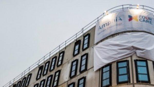 Hoogste punt bouw bereikt van nieuwe Amphia Ziekenhuis in Breda