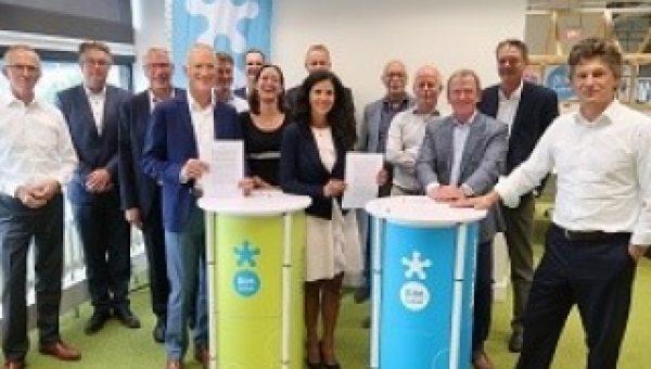 UNETO-VNI tekent digitaliseringsdeal met overheid en bouw