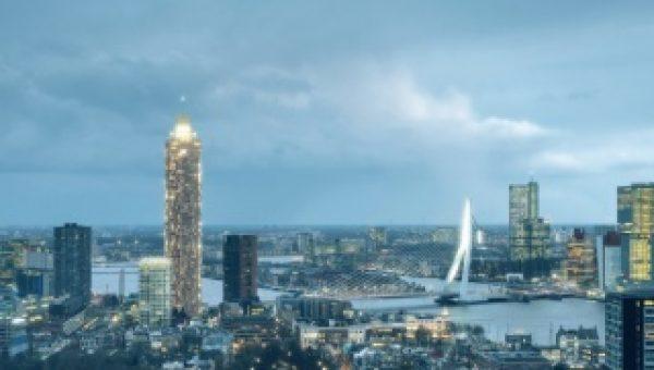 Duurzame energie voor toekomstige bewoners De Zalmhaven in Rotterdam