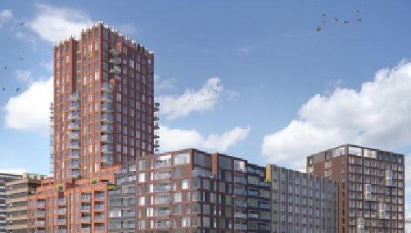 Heddes gaat 36 appartementen en twee hotels realiseren in Amsterdam-Noord