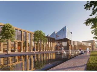 BAM gaat nieuwe gemeentehuis Midden-Groningen in Hoogezand bouwen