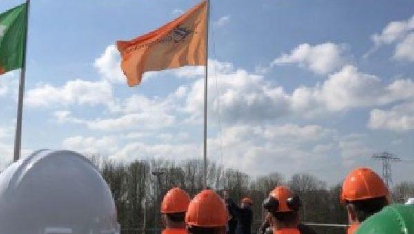 Campusgebouw Zernikeplein 7 in Groningen bereikt hoogste punt