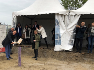 Nieuwbouw kinderdagverblijf Kindergarden in Leidsche Rijn Centrum gestart!