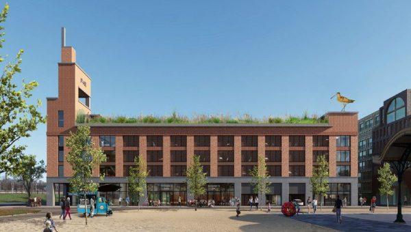BAM bouwt 'groene' parkeergarage met P+R faciliteiten in Leidsche Rijn Utrecht.