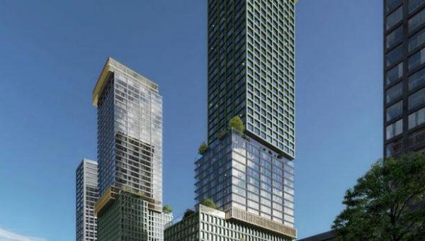 Nieuwe verticale stad in Den Haag