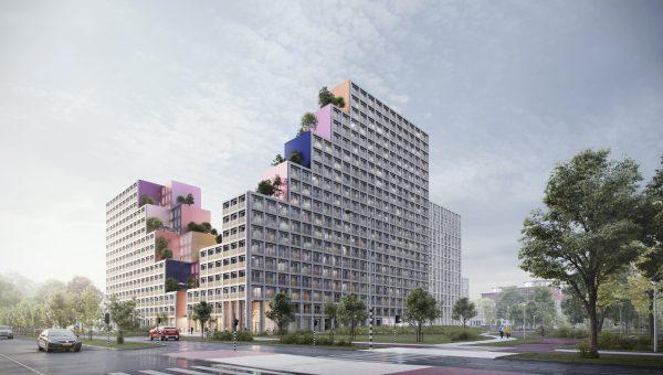 Dubotechniek bouwt mee aan één van de grootste Nederlandse studentencomplexen!