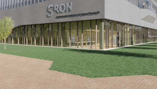 Feestelijke start bouw SRON op Leiden Bio Science Park