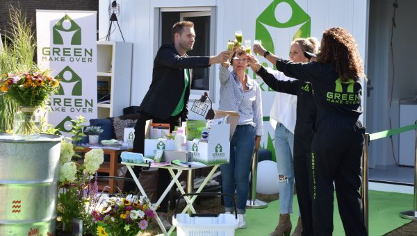 Installateurs als experts in tv-serie Green Make Over