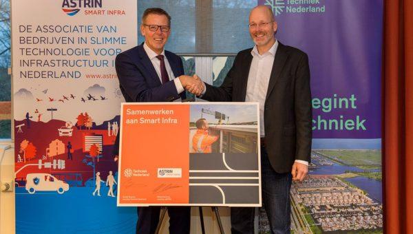 Techniek Nederland en Astrin gaan samen infra en mobiliteit slimmer maken