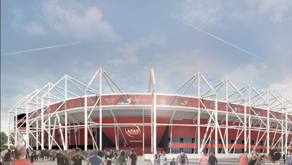 BAM bouwt nieuw stadiondak voor AZ