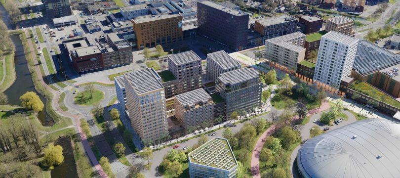 Ballast Nedam Development ontwikkelt Middenzone Gezondheidspark Dordrecht