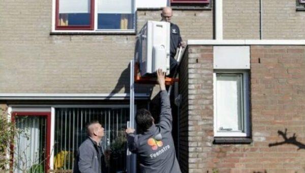 Feenstra en Vattenfall testen innovatief warmtepompsysteem