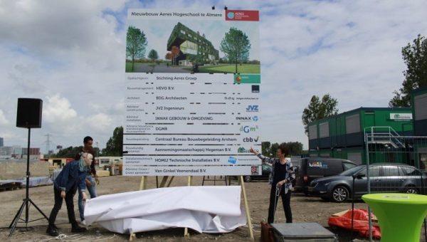 Start bouw hogeschool Almere
