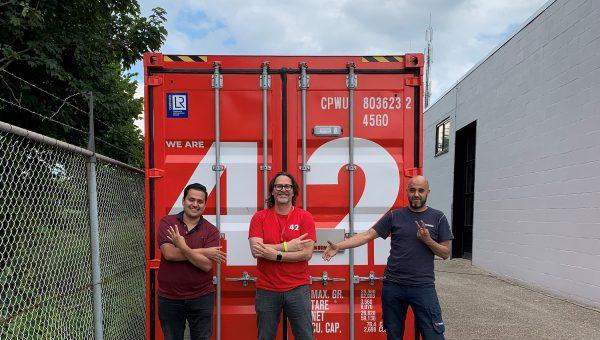 Verkerk: Container 42