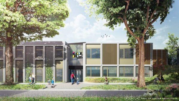 STI: Nieuwbouw campus aan de lanen te Rosmalen