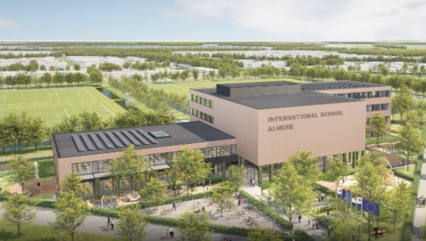 "Nieuwbouw""International school Almere"""