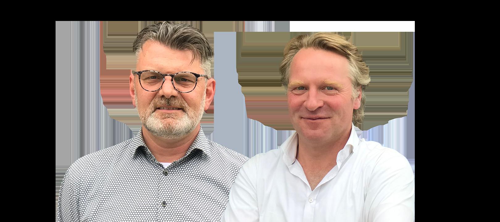 Jan Pieter Manschot, Directeur Techniek en Bernard Gijsberts, Directeur BIM-web