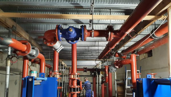Start realisatie WKO installatie Floating Office Rotterdam