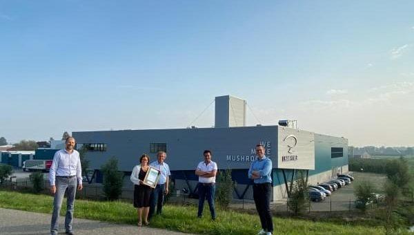 5 sterren BREEAM herbouwde fabriek Van Soest B.V.