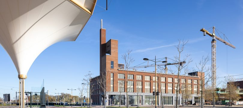 Bijzonder parkeergebouw siert het centrum van Leidsche Rijn