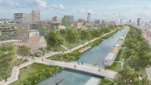 Nieuwe Utrechtse stadswijk Merwede