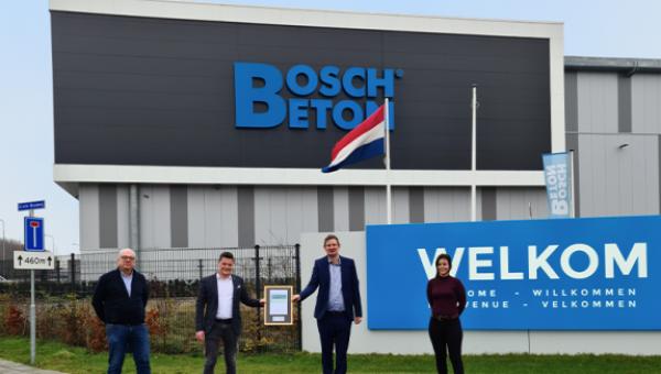 BREEAM-NL Outstanding nieuwe fabriek Bosch Beton