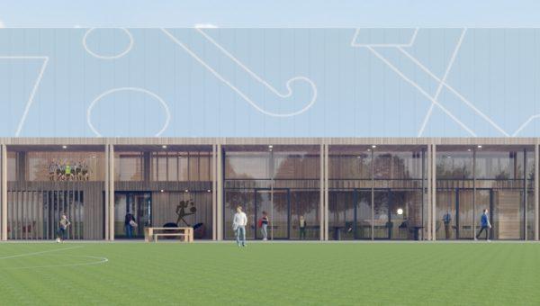 Breman Utiliteit Zwolle bouwt duurzame sporthal in Muiden