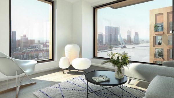 Unica verzorgt installaties in twee woontorens Boompjes Rotterdam
