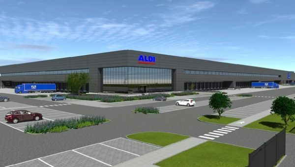 Brusche: Distributiecentrum Aldi Deventer