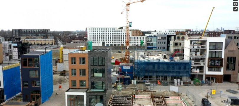 Installaties voor appartementen Centrum Eiland Amsterdam