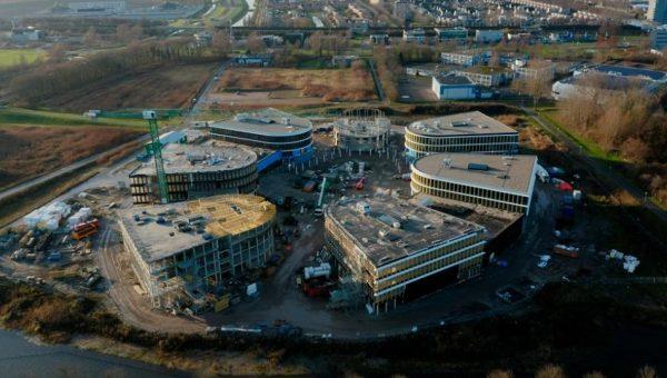 Projectleider Jacco over Campus Lelystad in Duurzaam Gebouwd.