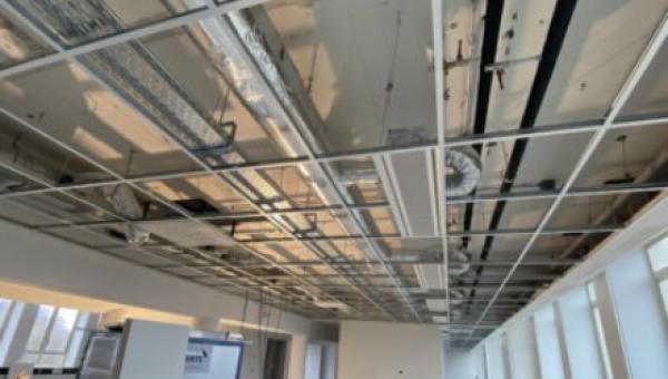 Projectupdate verbouwing kantoor EY Den Haag