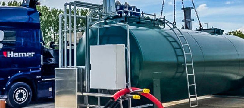 Nieuwe brandstofinstallatie voor busstalling Westraven