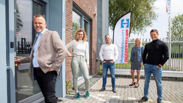 Hoppenbrouwers Techniek Arnhem verandert virtuele vestiging in fysieke locatie