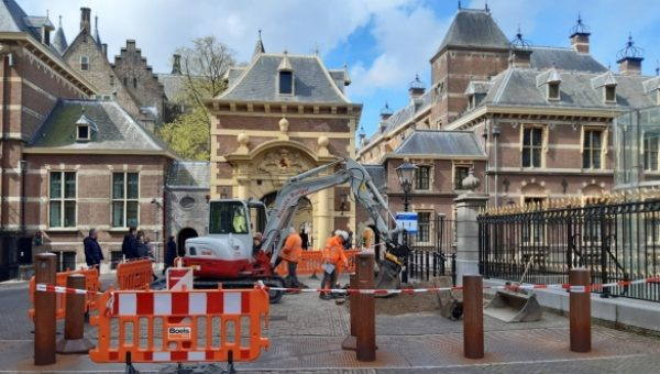 Onderzoek naar ondergrondse infrastructuur Binnenhof