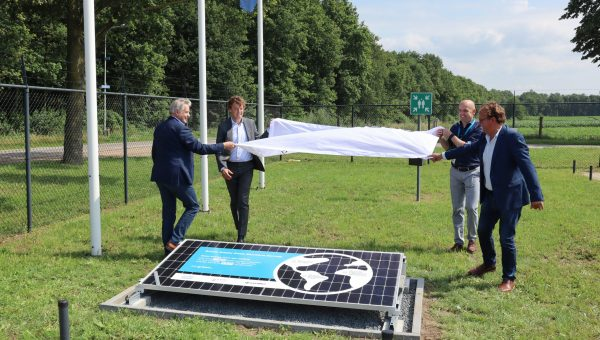 Groendus en Arvato Supply Chain Solutions openen unieke zonnecentrale