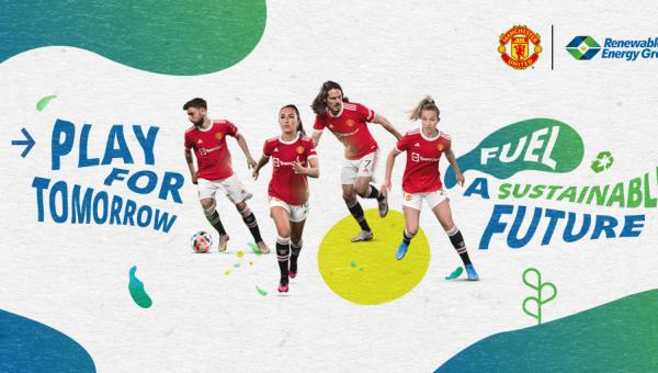 Manchester United vormt team met renewable energy group op weg naar een duurzame toekomst