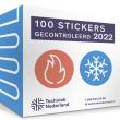 Nu te bestellen: sticker 'gecontroleerd 2022' voor gasverbrandings- installaties